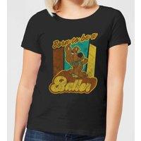 Scooby Doo Born To Be A Baller Women's T-Shirt - Black - S - Black