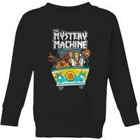 Scooby Doo Mystery Machine Heavy Metal Kids' Sweatshirt - Black - 7-8 Years - Black