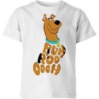 Scooby Doo RUHROOOOOH Kids' T-Shirt - White - 7-8 Years - White