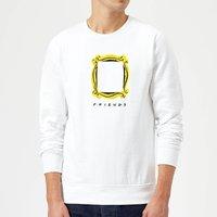 Friends Frame Sweatshirt - White - S - White