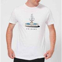 Friends Fountain Men's T-Shirt - White - L - White