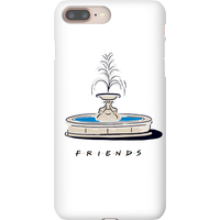 Friends Fountain Phone Case for iPhone and Android - Samsung Note 8 - Snap Case - Gloss