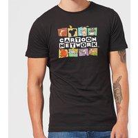 Cartoon Network Logo Characters Men's T-Shirt - Black - M - Black