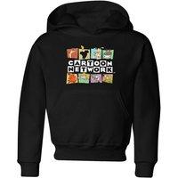Cartoon Network Logo Characters Kids' Hoodie - Black - 9-10 Years - Black