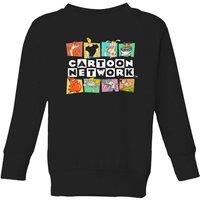 Cartoon Network Logo Characters Kids' Sweatshirt - Black - 3-4 Years - Black