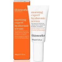 this works Morning Expert Hyaluronic Serum 30ml