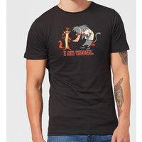 I Am Weasel Characters Men's T-Shirt - Black - XS - Black