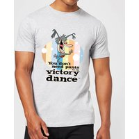 I Am Weasel You Don't Need Pants For The Victory Dance Men's T-Shirt - Grey - XXL - Grey - Dance Gifts