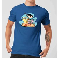 Ed, Edd n Eddy Club Ed Men's T-Shirt - Royal Blue - XXL - royal blue