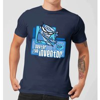 Dexters Lab The Inventor Men's T-Shirt - Navy - XS - Navy