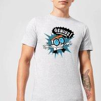Dexters Lab Genius Mens T-Shirt - Grey - M - Grey