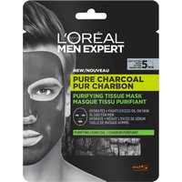 L'Oreal Paris Men Expert Pure Charcoal Purifying Tissue Mask 30g