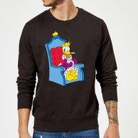 Disney King Donald Sweatshirt - Black - M - Black