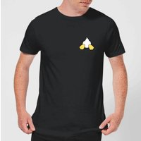 Disney Donald Duck Backside Men's T-Shirt - Black - XXL - Black