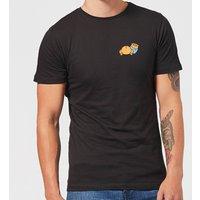Disney Winnie The Pooh Backside Men's T-Shirt - Black - XS - Black