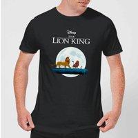Disney Lion King Hakuna Matata Walk Men's T-Shirt - Black - 4XL