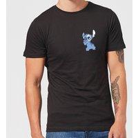 Disney Stitch Backside Men's T-Shirt - Black - XXL - Black