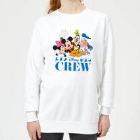 Disney Crew Women's Sweatshirt - White - XS - White