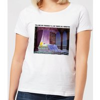 Disney Sleeping Beauty I'll Be There In Five Women's T-Shirt - White - M - White