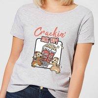 Disney Crackin Me Up Women's T-Shirt - Grey - 4XL - Grey