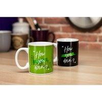 Friends How you Doin'? Heat Change Mug - Friends Gifts