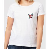 Mom Heart Women's T-Shirt - White - S - White