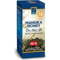 MGO 100+ Pure Manuka Honey - Snap Pack - 5g - Pack of 12