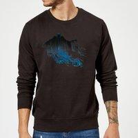 Harry Potter Dementor Silhouette Sweatshirt - Black - M - Black