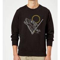 Harry Potter Lupin Sweatshirt - Black - L - Black