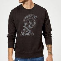 Harry Potter Harry Potter Head Sweatshirt - Black - S - Black