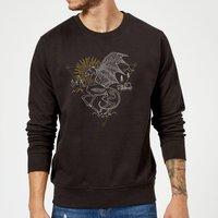 Harry Potter Thestral Sweatshirt - Black - L - Black