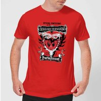 Harry Potter Triwizard Tournament Durmstrang Men's T-Shirt - Red - S - Red