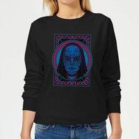 Harry Potter Death Mask Women's Sweatshirt - Black - M - Black