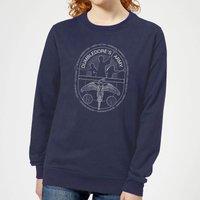 Harry Potter Dumblerdore's Army Women's Sweatshirt - Navy - L - Navy