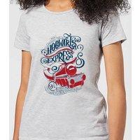 Harry Potter Hogwarts Express Womens T-Shirt - Grey - 4XL - Grey