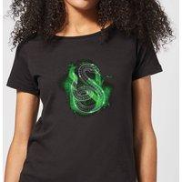 Harry Potter Slytherin Geometric Women's T-Shirt - Black - XXL - Black