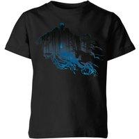 Harry Potter Dementor Silhouette Kids' T-Shirt - Black - 3-4 Years - Black