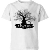 Harry Potter Always Tree Kids' T-Shirt - White - 9-10 Years - White
