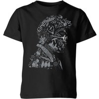 T-Shirt Harry Potter Harry Potter Head - Nero - Bambini - 5-6 Anni - Nero