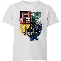 Harry Potter Varsity House Logo Kids' T-Shirt - Grey - 5-6 Years - Grey