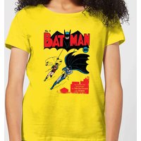 Batman Batman Issue Number One Women's T-Shirt - Yellow - XL - Yellow - Clothes Gifts