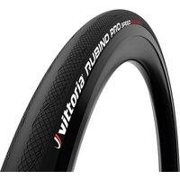 Vittoria Rubino Pro IV Speed Road Tyre - 700x25mm - Full Black
