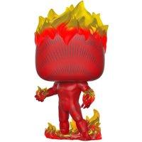 Marvel 80th Human Torch Pop! Vinyl Figure - Marvel Gifts