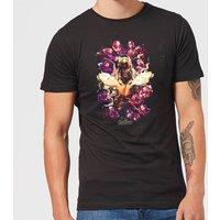 Avengers Endgame Splatter Men's T-Shirt - Black - XL - Black