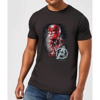 Avengers Endgame Captain America Brushed Men's T-Shirt - Black - XS - Black