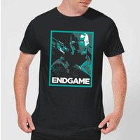 Avengers Endgame War Machine Poster Men's T-Shirt - Black - XL - Black