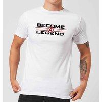 Avengers Endgame Become A Legend Men's T-Shirt - White - XXL - White