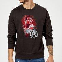 Avengers Endgame Hulk Brushed Sweatshirt - Black - S - Black