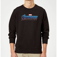 Avengers Endgame Logo Sweatshirt - Black - XXL - Black