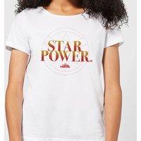 Captain Marvel Star Power Women's T-Shirt - White - XXL - White